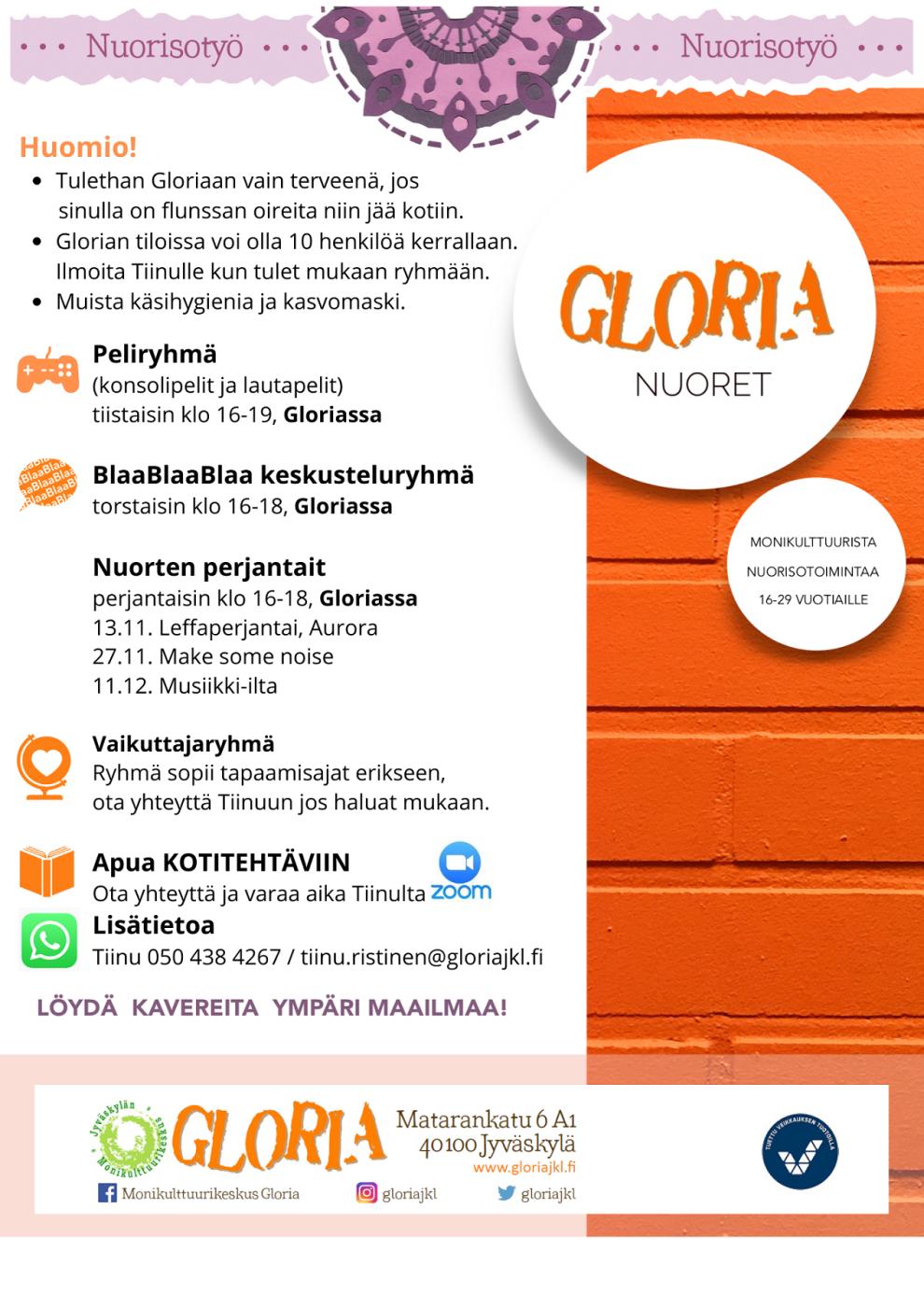 Monikulttuurikeskus Gloria